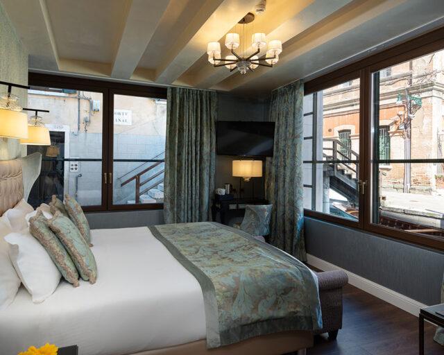 Junior Suite con Vista al Canal